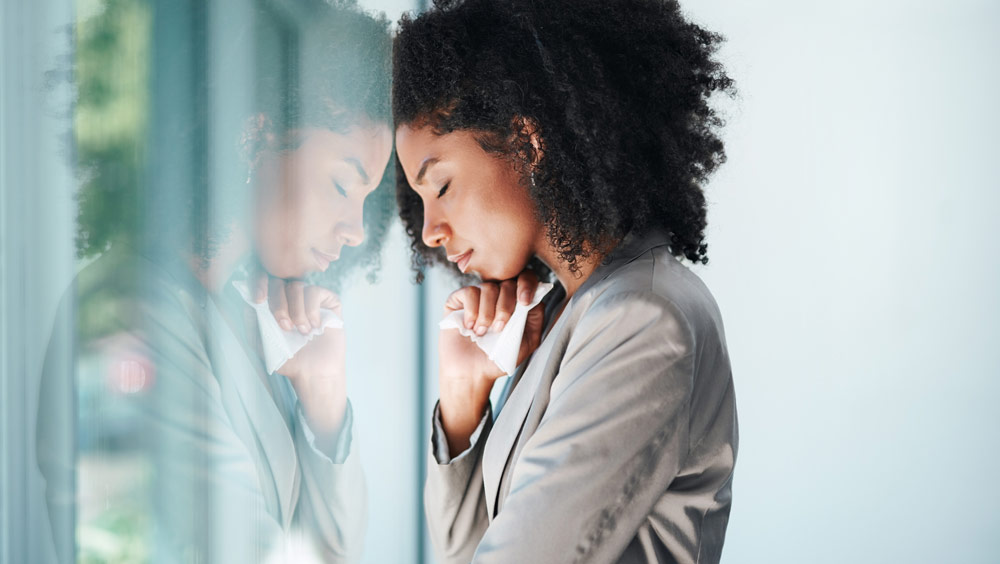 Woman Going Through Anxiety