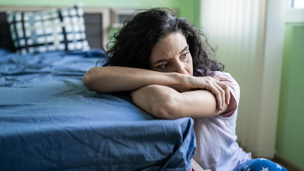 Woman Going Through Depression